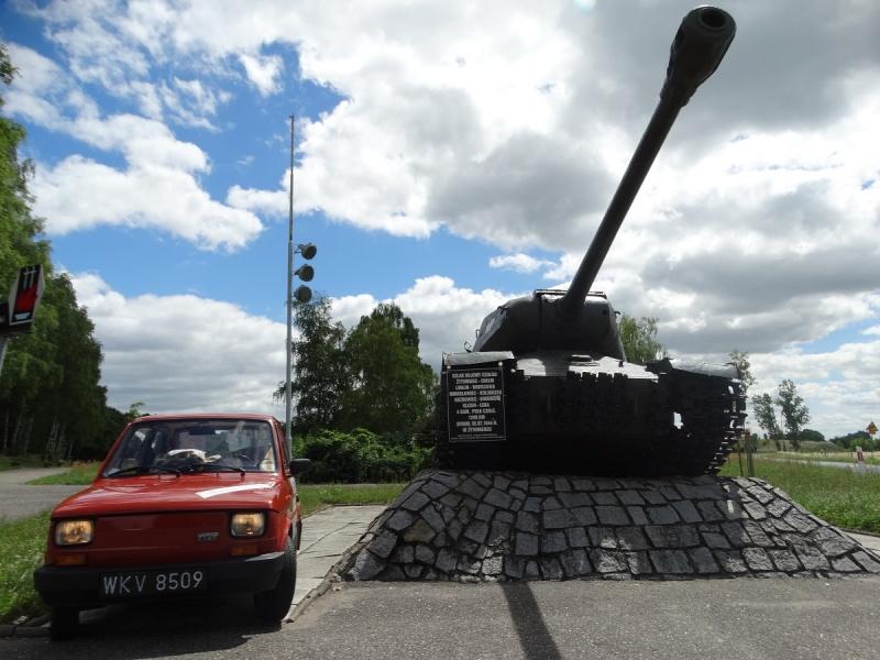 Dzień IV - Czołg pomnik - IS-2