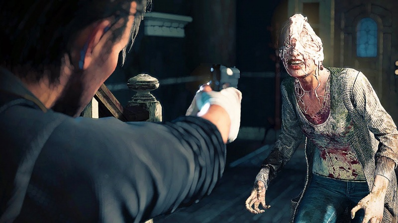 "Screen z gry ""The Evil Within 2"" (źródło: youtube.com)"