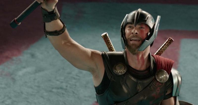 """Kadr z filmu """"Thor: Ragnarok"""" (źródło: youtube.com)"""