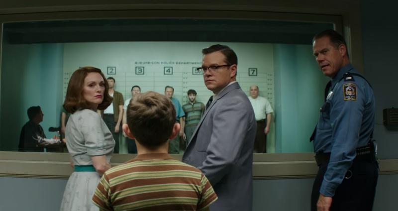 """Kadr z filmu """"Suburbicon"""" (źródło: materiały prasowe)"""
