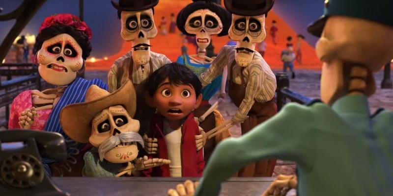 "Kadr z filmu ""Coco"" (źródło: youtube.com)"