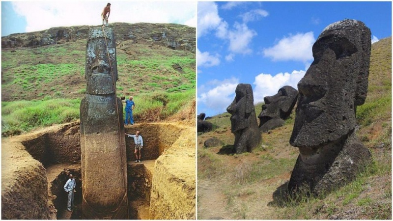 Posągi moai wciąż stanowią nieme świadectwo naszych przodków