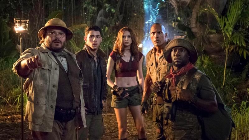 """Kadr z filmu """"Jumanji: Przygoda w dżungli"""" (źródło: materiały prasowe)"""