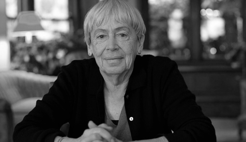 Ursula Le Guin (źródło: youtube.com/screenshot)