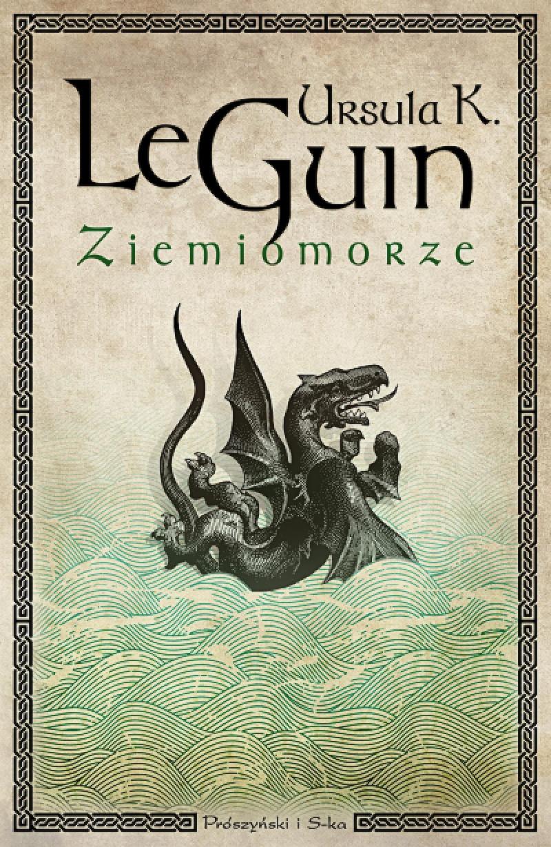 """Okładka książki """"Ziemiomorze"""" (źródło: www.proszynski.pl)"""