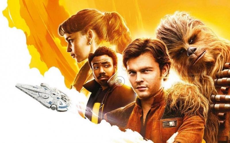 """Poster """"Han Solo: Gwiezdne wojny - historie"""" (źródło: youtube.com/screenshot)"""