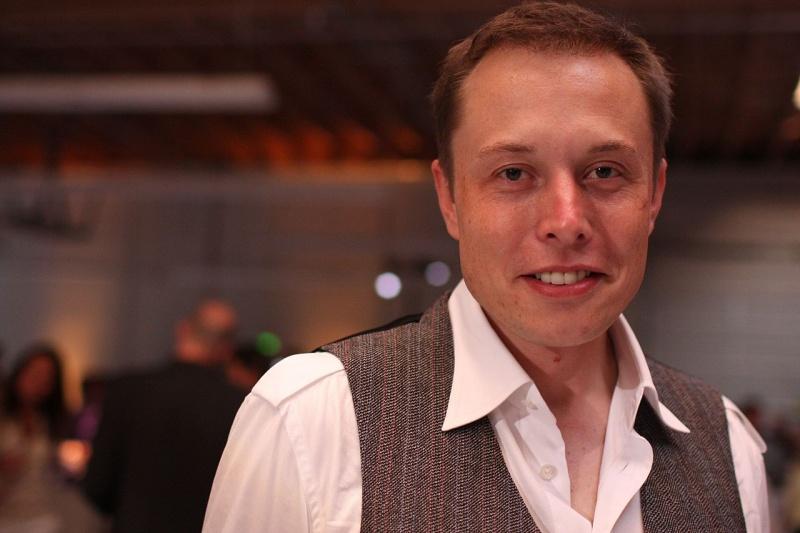 Elon Musk (źródło: wikimedia.org/fot. Brian Solis)