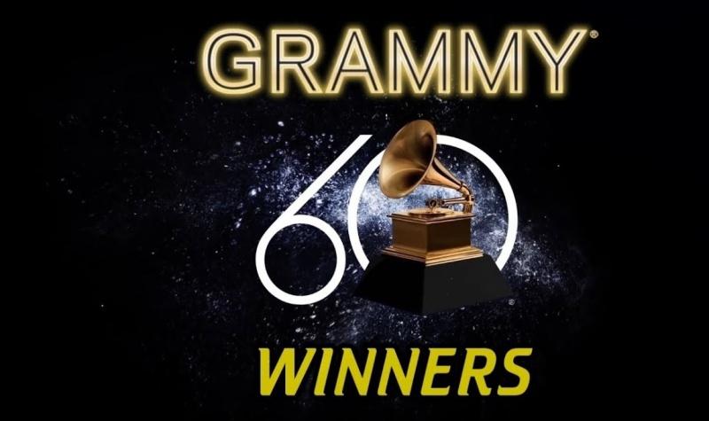 Logo Grammy 2018 (źródło: youtube.com/screenshot)