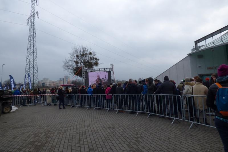 Kolosy 2018 - kolejka ustawiła się od samego rana (fot. Małgosia Morawska)