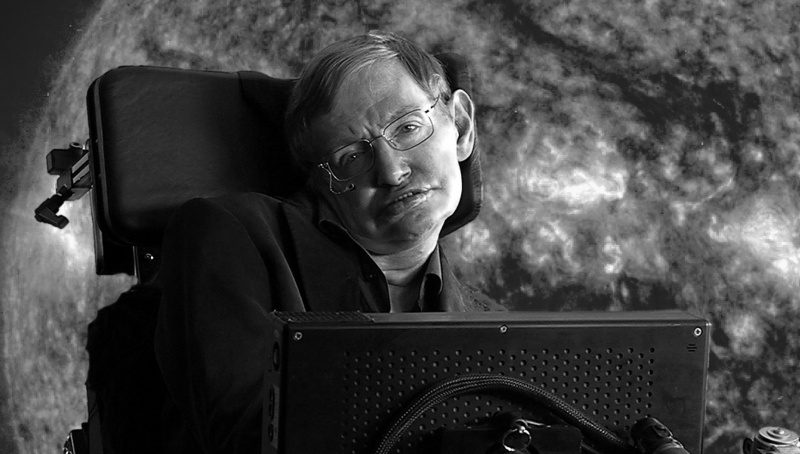 Stephen Hawking (źródło: youtube.com/screenshot)