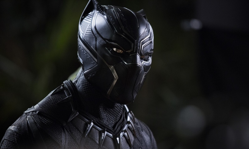"""Kadr z filmu """"Czarna Pantera"""" (źródło: materiały prasowe)"""