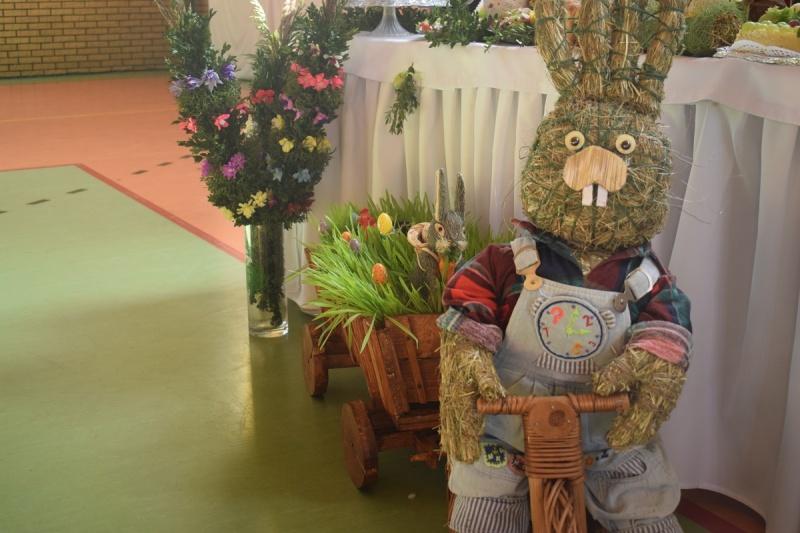 """Zając Poziomka - XX Powiatowa Wystawa """"Stoły Wielkanocne na Kujawach"""" - Baruchowo 2018 (fot. PJ)"""