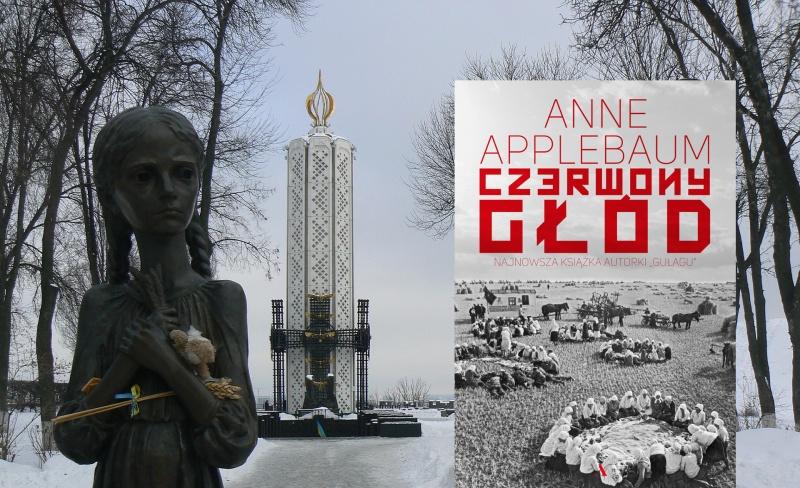 Monument upamiętniający ofiary Wielkiego głodu na Ukrainie, Kijów (źródło: wikimedia.org/fot. Jarosław Góralczyk); Okładka (źródło: materiały wydawnictwa/wydawnictwoagora.pl)