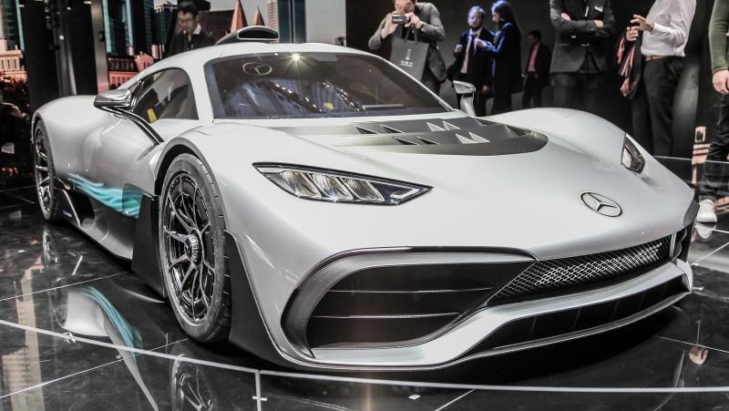 Mercedes AMG Project One (fot. Alexander Migl/wikimedia.org)