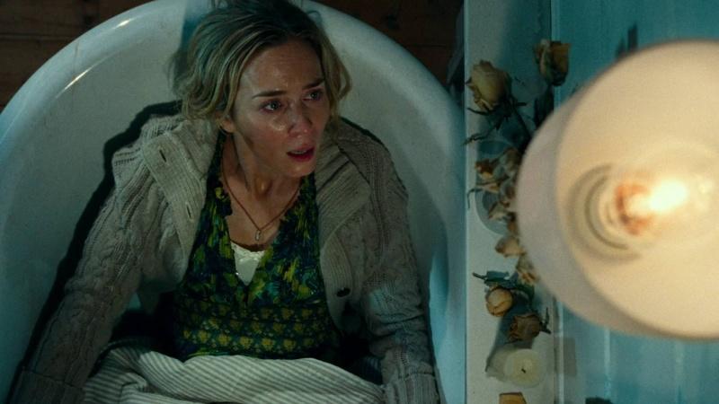 "Kadr z filmu ""Ciche miejsce"" (źródło: youtube.com)"