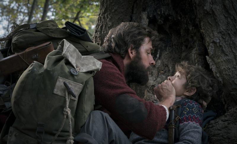 """Kadr z filmu """"Ciche miejsce"""" (źródło: materiały prasowe)"""