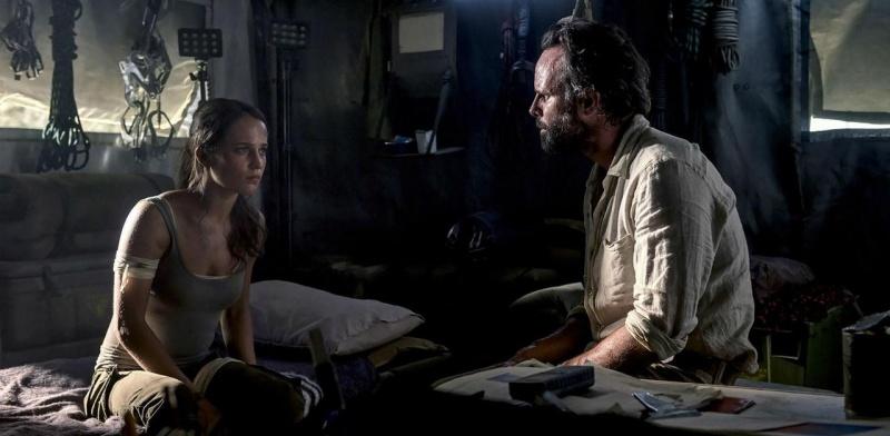 """Kadr z filmu """"Tomb Raider"""" (źródło: materiały prasowe)"""