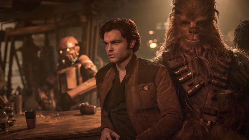 """Kadr z filmu """"Han Solo: Gwiezdne wojny - historie"""" (źródło: materiały prasowe)"""