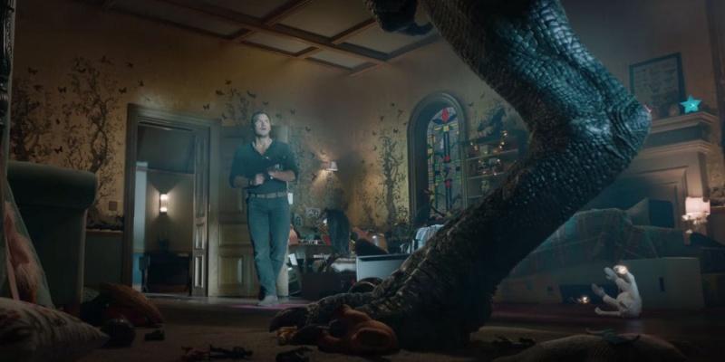 """Kadr z filmu """"Jurassic World: Upadłe królestwo"""" (źródło: youtube.com)"""
