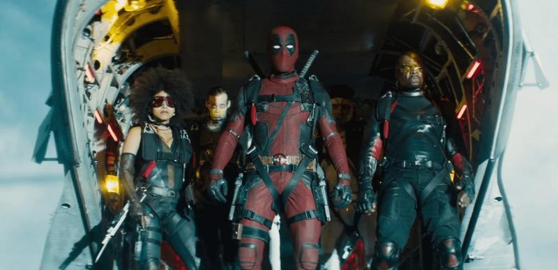 """Kadr z filmu """"Deadpool 2"""" (źródło: materiały prasowe)"""