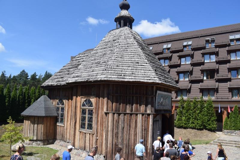Szymbark - kościółek pod wezwaniem św. Rafała Kalinowskiego (fot. PJ)