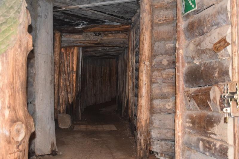 Szymbark - wnętrze bunkra (fot. PJ)
