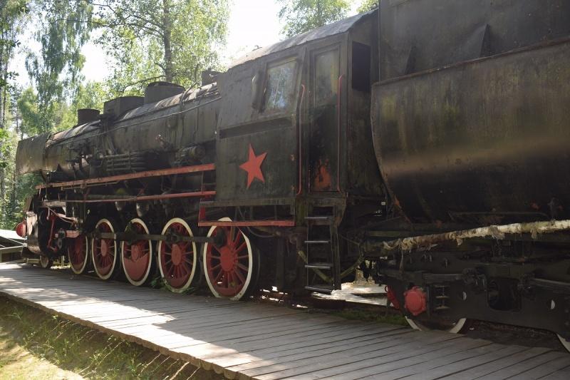 Szymbark - replika pociągu radzieckiego (fot. PJ)