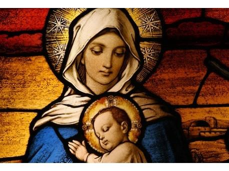 Św. Maryja z małym Jezusem  źródło: flickr.com