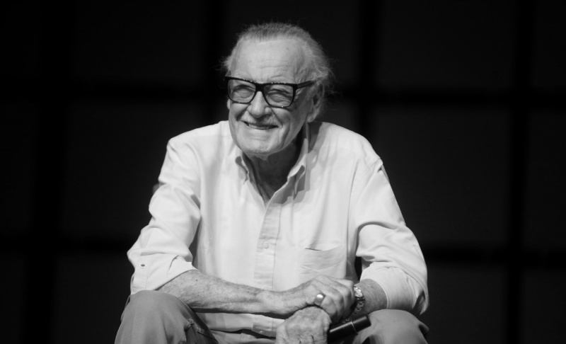 Stan Lee (flickr.om/fot. Gage Skidmore)