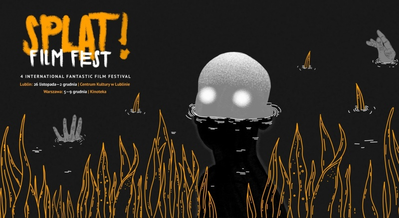 Oficjalny baner festiwalu Splat!FilmFest (źródło: materiały promocyjne organizatora)