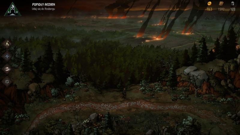 """Screen z gry """"Wojna Krwi: Wiedźmińskie Opowieści"""" (źródło: rozgrywka własna)"""