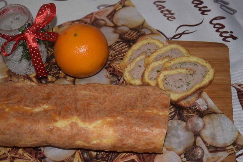 Rolada z mięsa mielonego (fot. Zosia)