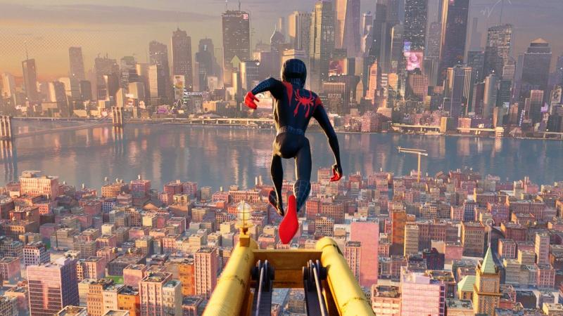 """Kadr z filmu """"Spider-Man: Uniwersum"""" (źródło: materiały prasowe)"""