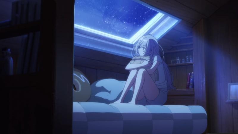 "Zdjęcie ilustracyjne (kadr z anime ""Irozuku Sekai no Ashita kara"")"
