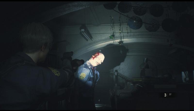 """Screen z gry """"Resident Evil 2 Remake"""" (źródło: rozgrywka własna)"""