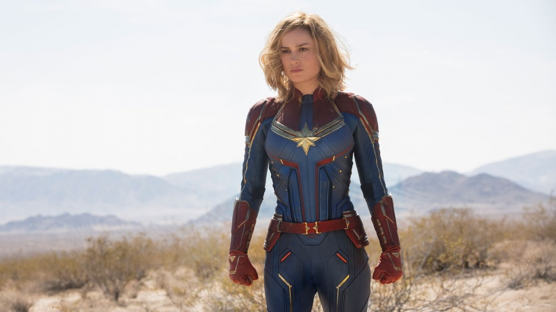 """Kadr z filmu """"Kapitan Marvel"""" (źródło: materiały prasowe)"""