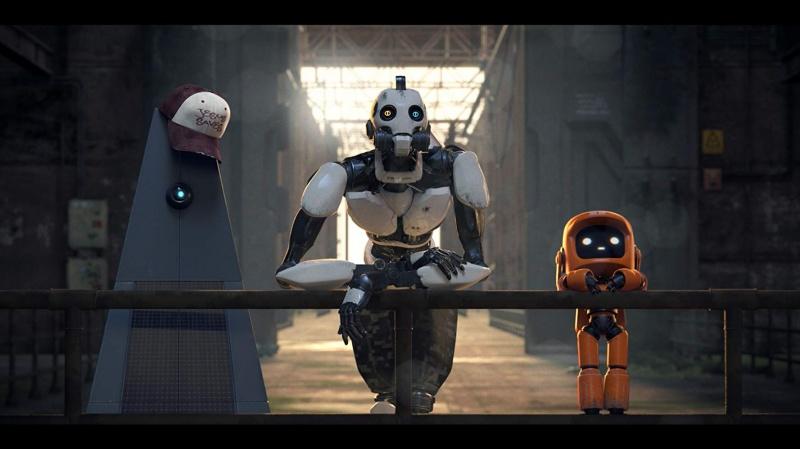 """Kadr z serialu """"Miłość, śmierć i roboty"""" (materiały prasowe)"""
