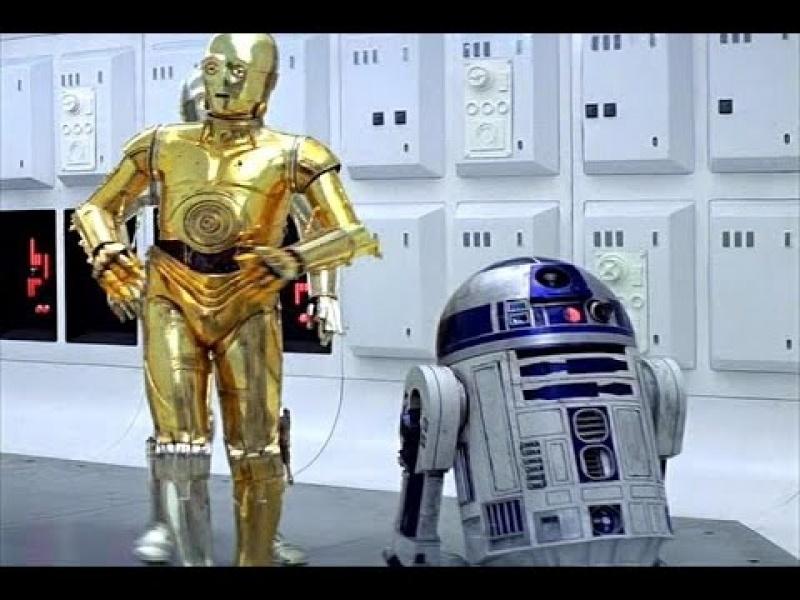 """Kadr z filmu """"Gwiezdne Wojny"""" (źródło: YouTube.com)"""