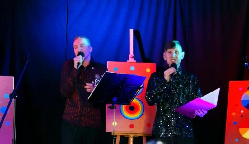 Duet KADAR - koncert w Domu Pielgrzyma Amicus (źródło: archiwum prywatne)