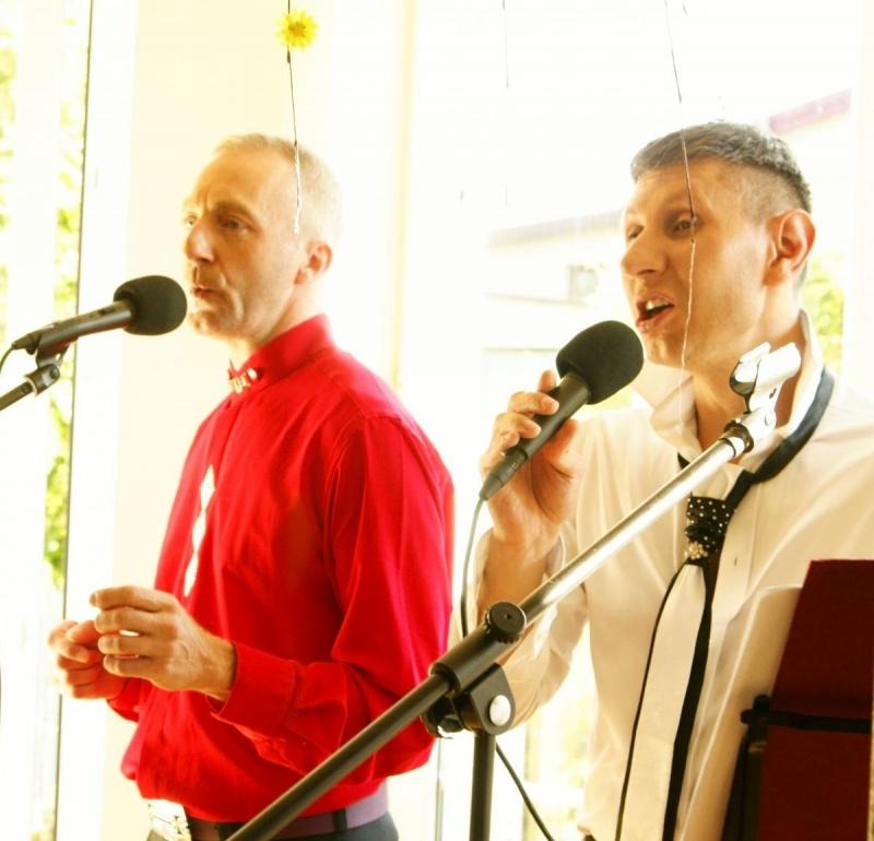 Duet KADAR - koncert w Dobrym Domu Wilanów (źródło: archiwum prywatne)