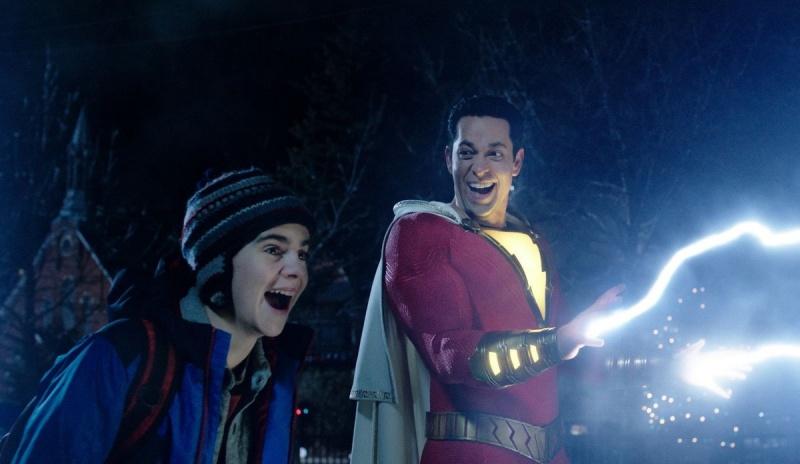 """Kadr z filmu """"Shazam!"""" (źródło: materiały prasowe)"""