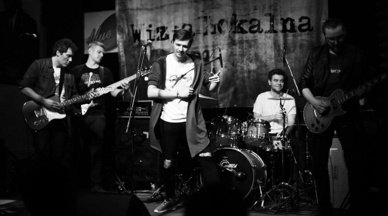 Wizja Lokalna – od lewej Bartosz, Sebastian, Jędrzej, Paweł, Marek (fot. @oczami.m)