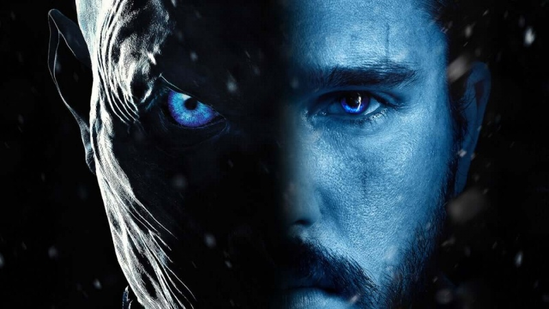 """Poster z serialu """"Gra o tron: sezon 8"""" (źródło: materiały prasowe/HBO)"""