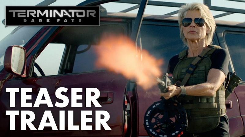 """Kadr z filmu """"Terminator: Mroczne przeznaczenie"""" (źródło: youtube.com)"""