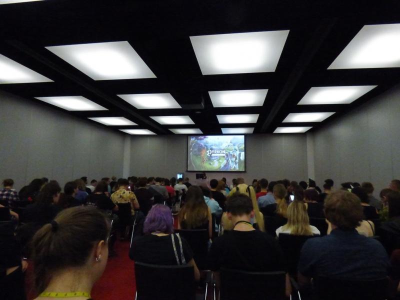 Pyrkon 2019 - Witamy na prelekcji o sztucznej inteligencji (fot. Małgosia Morawska)