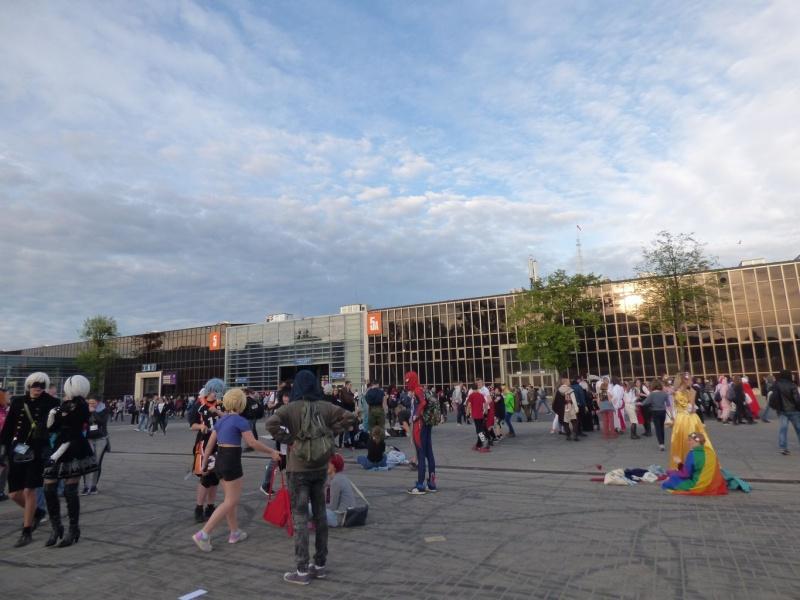 Pyrkon 2019 - Pora na chwilę wyjść z pawilonów, na zewnątrz też mnóstwo się dzieje (fot. Małgosia Morawska)
