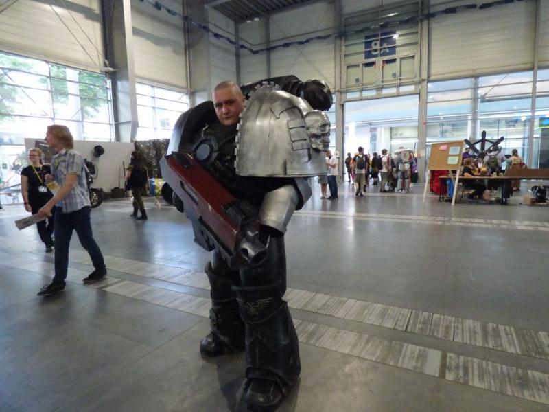 Pyrkon 2019 - Świetny Cosplay i mistrz drugiego planu ;) (fot. Małgosia Morawska)