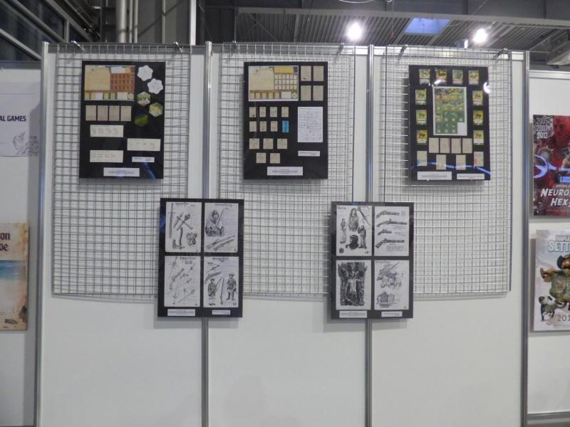 Pyrkon 2019 - Fragment procesu powstawania gry planszowej (fot. Małgosia Morawska)