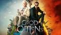 """""""Good Omens"""" – Armagedon w iście brytyjskim stylu -  Good Omens;Dobry omen;miniserial;komedia;fantasy;Amazon Studio;BBC;anioł;demon;Azirafal;Crowley;czarny humor;surrealizm;abstrakcyjny;szatan;brytyjski;armagedon;czołówka;David Arnold;Michael Sheen;David Tennant;ekranizacja;Terry Pratchett;Neil Gaiman"""