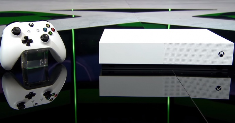 Xbox One S All-Digital Edition (źródło: youtube.com/screenshot)